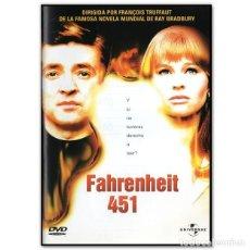 Cine: FAHRENHEIT 451 DVD. Lote 244629500