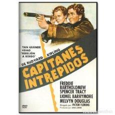 Cine: CAPITANES INTREPIDOS DVD. Lote 244629625