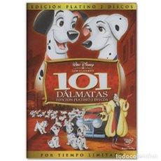 Cine: 101 DALMATAS EDICIÓN PLATINO 2 DVD. Lote 244629745
