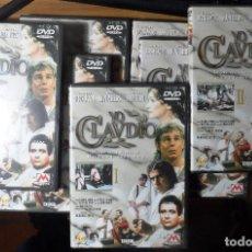 Cine: YO CLAUDIO. SERIE DE TELEVISIÓN COMPLETA. 7 DVD.. Lote 244630950