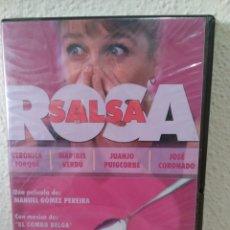 Cine: DVD SALSA ROSA. CON SU EMBALAJE. NUEVO. Lote 244633785