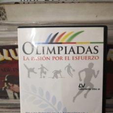 Cine: OLIMPIADAS LA PASIÓN POR EL ESFUERZO. Lote 244658965