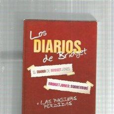 Cine: DIARIOS DE BRIDGET + PAGINAS PERDIDAS. Lote 244659580