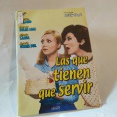 Cine: CTN1512 LAS QUE TIENEN QUE SERVIR DVD EDICION CARTON SEGUNDAMANO. Lote 244689725