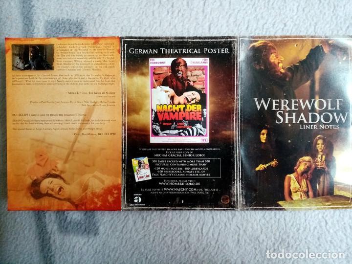 Cine: LA NOCHE DE WALPURGIS - WEREWOLF SHADOW (EDICIÓN AMERICANA ZONA 1) PAUL NASCHY JACINTO MOLINA - Foto 6 - 244718930