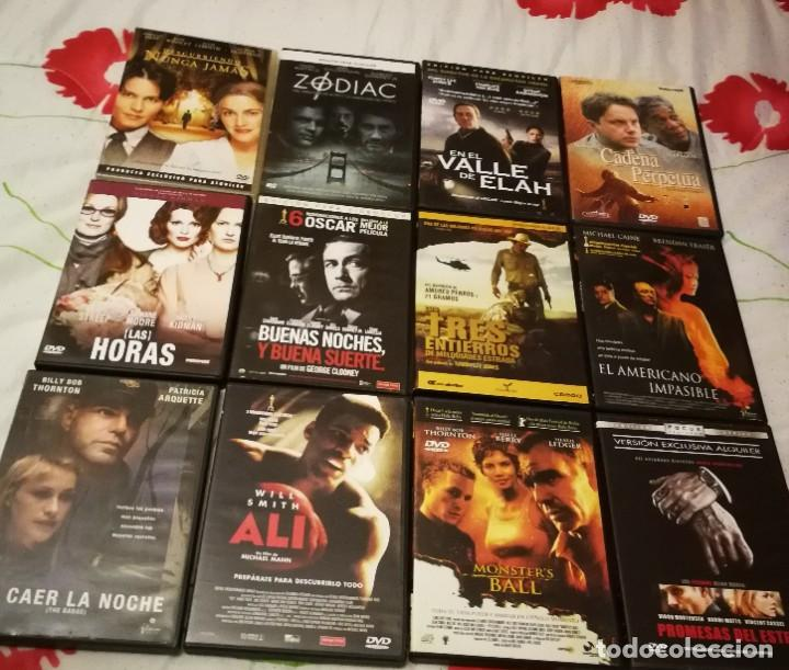 LOTE 12 DVD. LAS HORAS, ALI, PROMESAS DEL ESTE, ZODIAC, MONSTERS BALL... LISTA EN DESCRIPCIÓN. (Cine - Películas - DVD)