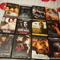 Cine: LOTE 12 DVD. LAS HORAS, ALI, PROMESAS DEL ESTE, ZODIAC, MONSTERS BALL... LISTA EN DESCRIPCIÓN.. Lote 244741825