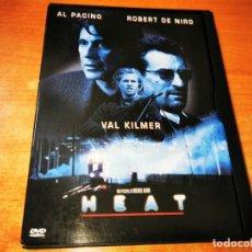 Cine: HEAT DVD DEL AÑO 1995 ESPAÑA SNAPCASE ROBERT DE NIRO AL PACINO VAL KILMER MICHAEL MANN. Lote 244900505