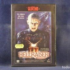 Cine: HELLRAISER - DVD. Lote 244985800
