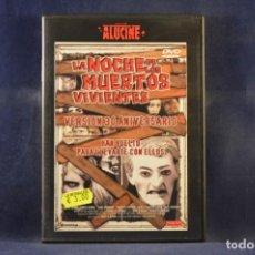 Cine: LA NOCHE DE LOS MUERTOS VIVIENTAS (VERSIÓN 30 ANIVERSARIO). Lote 244986835