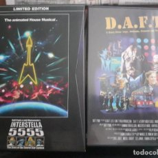 Cine: DAFT PUNK 2 DVD + CD LIMITED EDITION INTERESTELLAR 5555 & D.A.F.T RARE. Lote 245116050