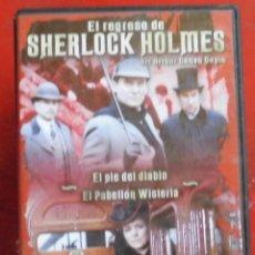 Cine: EL REGRESO DE SHERLOCK HOLMES. Lote 245137945