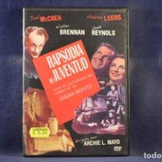 Cine: RAPSODIA DE JUVENTUD - DVD. Lote 245170520