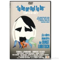 Cine: TO BE OR NOT TO BE SER O NO SER DVD. Lote 245170710