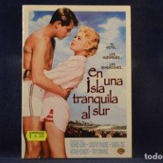 Cine: EN UNA ISLA TRANQUILA AL SUR - DVD. Lote 245170750