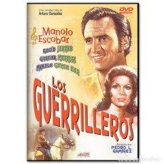 Cine: LOS GUERRILLEROS DVD. Lote 245171385