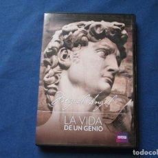 Cine: DVD - BBC - MIGUEL ÁNGEL, LA VIDA DE UN GENIO. Lote 245171515
