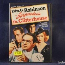 Cine: EL SORPRENDENTE DR. CLITTERHOUSE - DVD. Lote 245171550