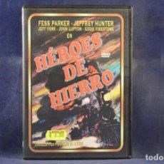 Cine: HÉROES DE HIERRO - DVD. Lote 245172285