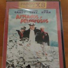 Cine: ARMADOS Y PELIGROSOS DVD (JOHN CANDY Y MEG RYAN). PRECINTADA. DESCATALOGADA. IMPOSIBLE DE ENCONTRAR. Lote 245231665