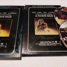 Cine: E4. EL PACIENTE INGLÉS. EDICIÓN ESPECIAL 2 DVD COLECCIONISTA. Lote 245289185