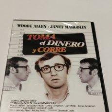 Cine: E4. TOMA EL DINERO Y CORRE. NUEVA Y PRECINTADA. Lote 245290815