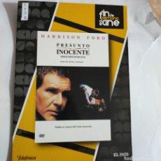 Cine: CTN1778 PRESUNTO INOCENTE DVD EDICION CARTON SEGUNDAMANO. Lote 245312125