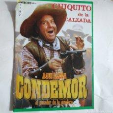 Cine: CTN1782 CONDEMOR DVD EDICION CARTON SEGUNDAMANO. Lote 245312760