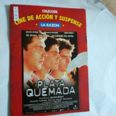 Cine: CTN1790 PLATA QUEMADA DVD EDICION CARTON SEGUNDAMANO. Lote 245312910