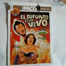 Cine: CTN1791 EL DIFUNTO ESTÁ VIVO DVD EDICION CARTON SEGUNDAMANO. Lote 245312930