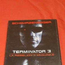 Cine: TERMINATOR 3 LA REBELIÓN DE LAS MÁQUINAS DVD. Lote 245346705