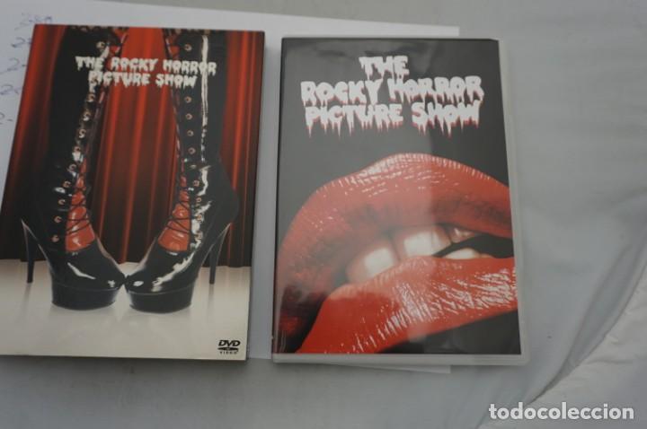 Cine: 2.B5/ 1 x DVD - THE ROCKY HORROR PICTURE SHOW - INCLUYE POSTALES / JIM SHARMAN - Foto 2 - 245364370