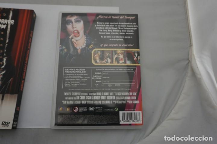 Cine: 2.B5/ 1 x DVD - THE ROCKY HORROR PICTURE SHOW - INCLUYE POSTALES / JIM SHARMAN - Foto 5 - 245364370