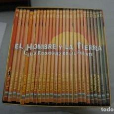 Cine: 12-B6/ 26 X DVD - SERIE COMPLETA - EL HOMBRE Y LA TIERRA - FELIX RODRIGUEZ DE LA FUENTE. Lote 245385385