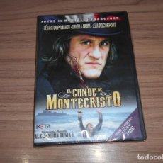 Cine: EL CONDE DE MONTECRISTO SERIE COMPLETA 2 DVD 400 MIN. ORNELLA MUTI GERARD DEPARDIEU PRECINTADA. Lote 245426125