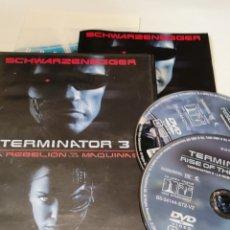 Cine: E6. TERMINATOR 3. EDICIÓN ESPECIAL DE 2 DVD. Lote 245432220