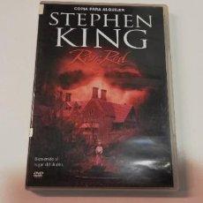Cine: PV-STEPHEN KING ROSE RED -2DVD DISCO VG+. Lote 245436055