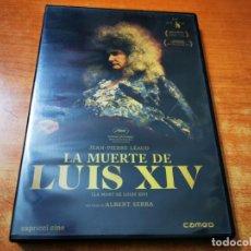 Cine: LA MUERTE DE LUIS XIV DVD DEL AÑO 2017 ESPAÑA V.O. FRANCES SUBTITULOS EN ESPAÑOL CATALAN INGLES. Lote 245459145