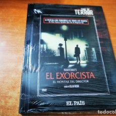 Cine: EL EXORCISTA COLECCION CINE DE TERROR EL PAIS DVD LIBRO PRECINTADO ESPAÑA EL MONTAJE DEL DIRECTOR. Lote 245461070
