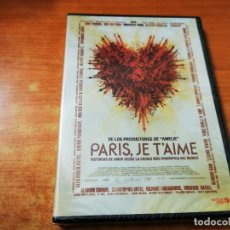 Cine: PARIS, JE T'AIME DVD PRECINTADO DEL AÑO 2007 ESPAÑA NATALIE PORTMAN GERARD DEPARDIEU. Lote 245466440