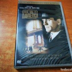 Cine: ERASE UNA VEZ AMERICA DOBLE DVD PRECINTADO DEL AÑO 2003 ESPAÑA ROBERT DENIRO JAMES WOODS 2 DVD. Lote 245467585