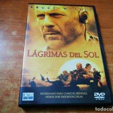 Cine: LAGRIMAS DEL SOL DVD DEL AÑO 2003 ESPAÑA BRUCE WILLIS MONICA BELLUCI. Lote 245470925