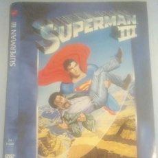 Cine: LOTE DVD SUPERMAN III (DESCATALOGADO CON CHRISTOPHER REEVE, RICHARD PRYOR, JACKIE COOPER). Lote 245505245
