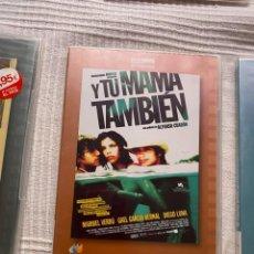 Cinema: M-12 DVD Y TU MAMA TAMBIEN ALFONSO CUARON. Lote 245568500