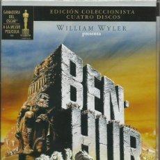 Cine: BEN HUR EDICION COLECCIONISTA. Lote 245596305