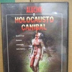 Cine: DVD - HOLOCAUSTO CANIBAL - MANGA FILMS - PEDIDO MINIMO DE 10€. Lote 245638390