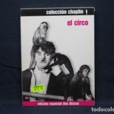 Cine: EL CIRCO - CHARLES CHAPLIN - DVD. Lote 245643485