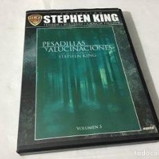 Cine: PESADILLAS Y ALUCINACIONES STEPHEN KING COLLECTION. Lote 245670690