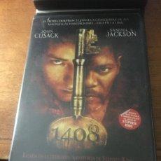 Cine: STEPHEN KING MIKAEL HAFSTROM JOHN CUSACK SAMUEL L. JACKSON DVD DESCATALOGADA 1408. Lote 245721515