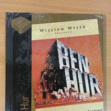 Cine: LIBRO + DVD Nº 21 - BEN - HUR (1959). CINE DE ORO EL PAÍS. PRECINTADO. OFERTA 3X2. Lote 245740840